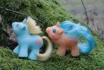 My little Pony - Sandcastle and Shovels by Flicksi