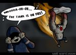 L4D: The Tank Is On Fire by wibblethefish