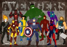 Ultimate Avengers by GTR26