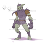 Monster Green Goblin design - by crimson-nemesis by The-GreenGoblin