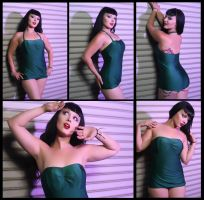 CeCe LaRue Bettie B Ad Green by rottencandy