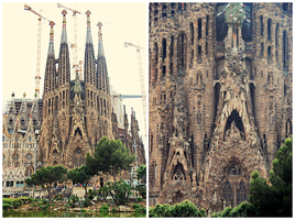 La Sagrada Familia by Ana-D