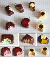 clay chocolates 3 by cihutka123