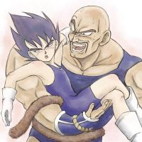 Selfish Prince, Vegeta by nuooon