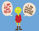 i am not so very special by rosalarian