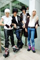 Air Gear - team by princekt