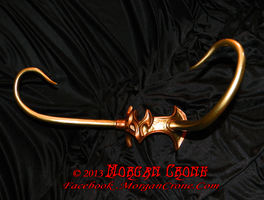 Two-Toned Lady Loki Style Horned Diadem View #5 by MorganCrone