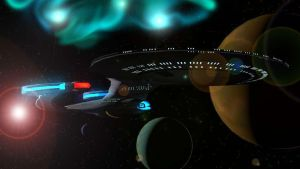 USS Enterprise NCC-1701-D Galaxy Class V2 by Marksman104