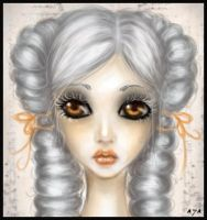 old+autumn+doll by Sibylle