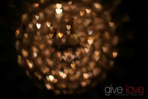Give love by technodium