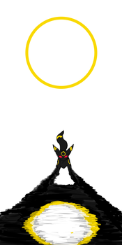 Umbreon by A-guiar