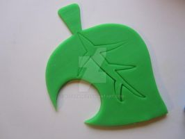 Animal Crossing Leaf Cookie Cutter 02 by B2Squared