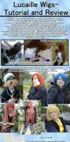 Ordering wigs from Taobao (Lucaille) tutorial by haleliwil