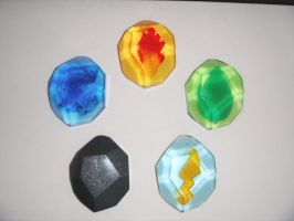 Pokemon Evolution Stones - (Old Version) by ChinookCrafts