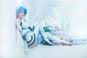 Rei Ayanami by AgosAshford