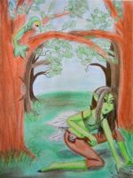 Watcher in the Trees by EmpressBlackWings
