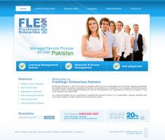 FLE Website by designer-hassan