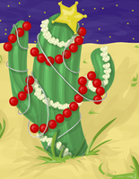 Oh Cactus Tree by labrattish