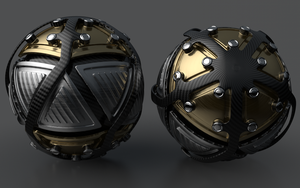 Armoured Ball XXXIX by Dracu-Teufel666
