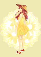 Yellow Dress by PineappleCookie