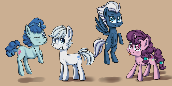 Four Best Friends by Scarletts-Fever