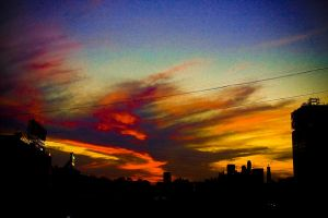Sky in Moscow by Sv-Batalina
