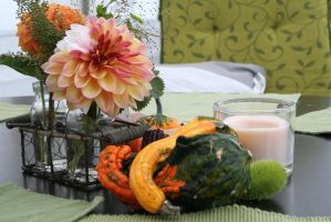 table decoration for autumn by ingeline-art