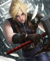 Cloud Strife by artsbycarlos