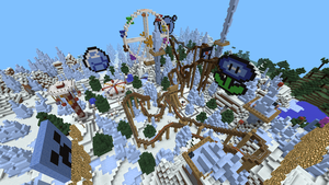 Minecraft PE Frosty Land 29 by Gaming-Master