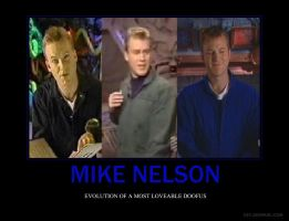 Evolution Of Mike Nelson by SyddyGurl