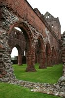 Sweetheart Abbey 2 by GothicBohemianStock