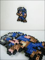 Final Fantasy 6 Locke bead sprite by 8bitcraft