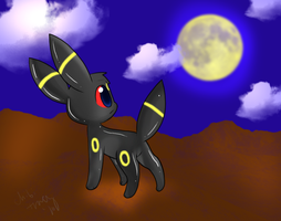 Another Umbreon by chibitracy