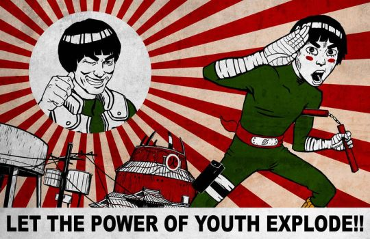 LET THE POWER OF YOUTH EXPLODE by 10weirdfingers