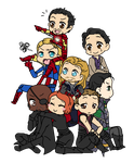 Avengers by Mibu-no-ookami
