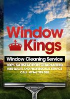 Window Kings Leaflet Design by danwilko