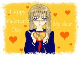 Suzuno - Happy Valentine by YuiHongo--Gi
