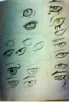Eye sketches by Thy-Grave-divided