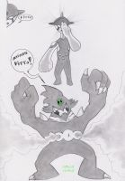 Ben 10: Ditto Ultimate Ditto by N-I-V-E-K