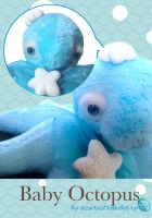 Baby Octopus plush 2 by AzureStrawberry