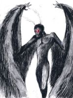 Mothman by pUmpkinhead666