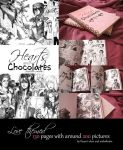 Hearts and Chocolates 2 bw artbook photos by anikakinka