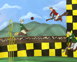 HA-game 2-TRY NOT TO GET HIT IN THE FACE AGAIN by lucy12143