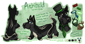 Classy Archibald by Artsywolven