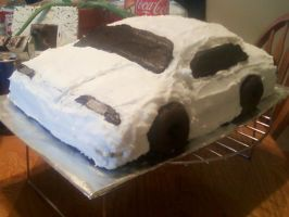 Car Cake by CatsCakes