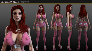 Scarlett Rose: Model Sheet by grico316