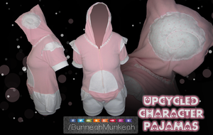 Upcycled Charcter Pjs by Bunneahmunkeah