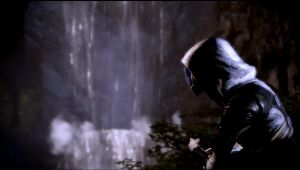 Tali'Zorah Watching the Water by dachamp21X