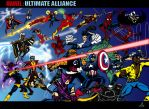 Marvel: Ultimate Alliance by cheddarpaladin