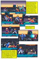 Megaman ZX Issue 1: Page 13 by RadzHedgehog